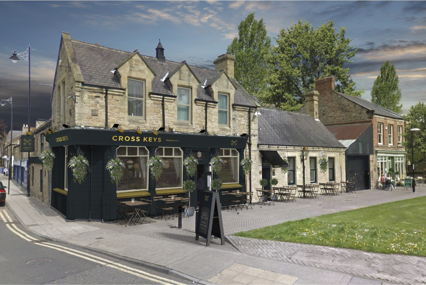Blackrose pub marketing