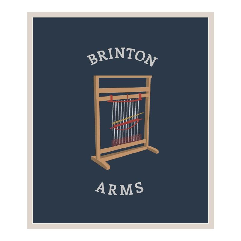 Marston's Heritage Pub sign design brinton arms