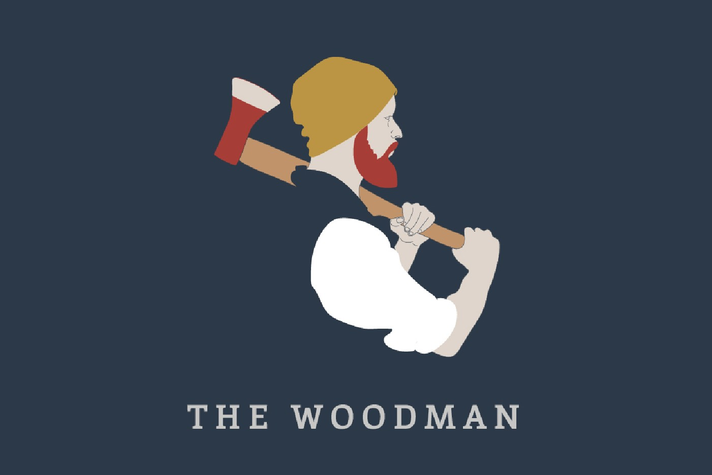 Marston's Heritage Pub sign design Woodman